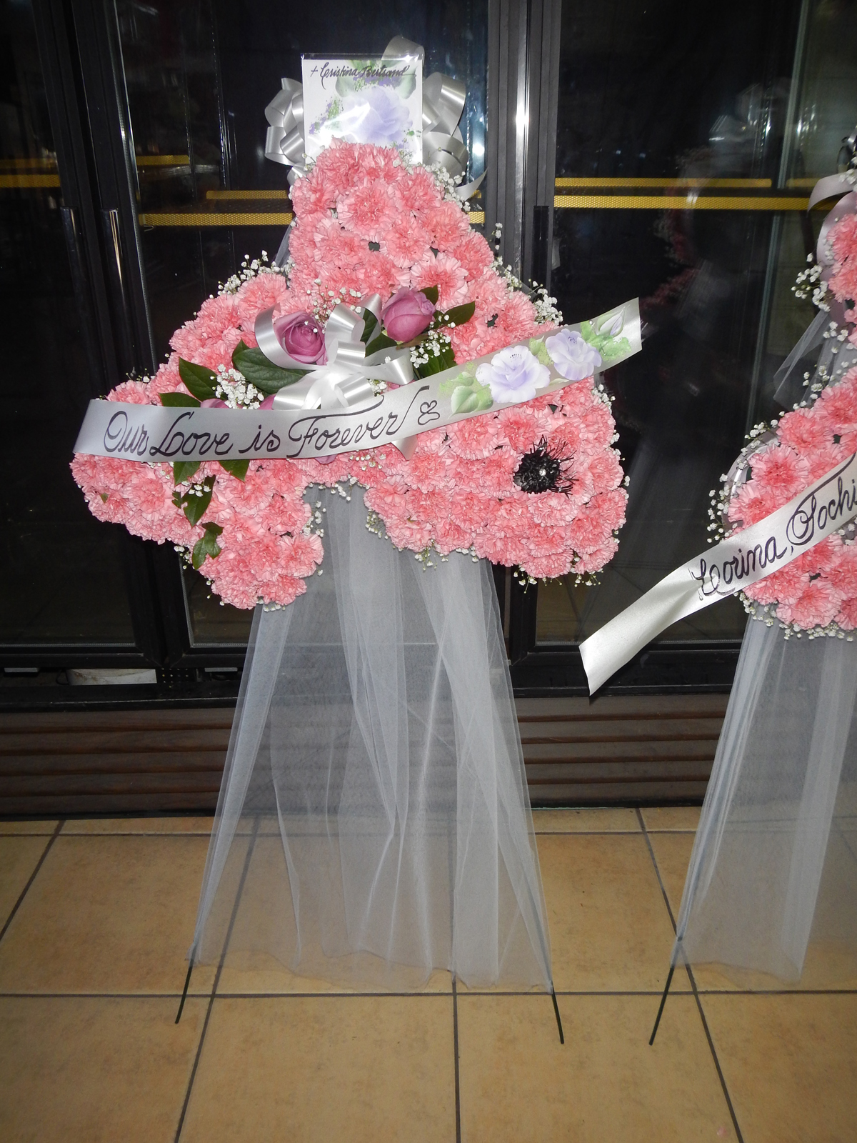Carnation Memory Wreath