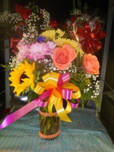 Assorted Garden Flowers